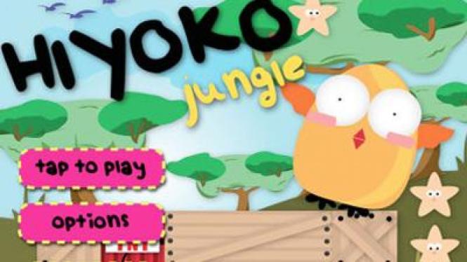 Hiyoko Jungle, aplikasi buatan pengembang anak negeri yang laris di App Store