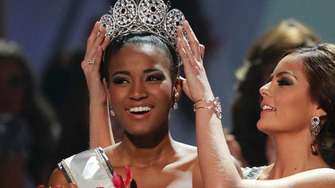Leila Lopes Miss Universe 2011