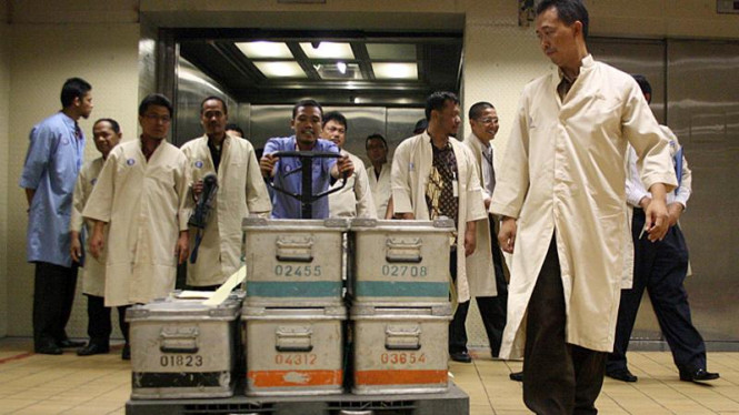 Pemusnahan Uang Palsu di Bank Indonesia (BI)