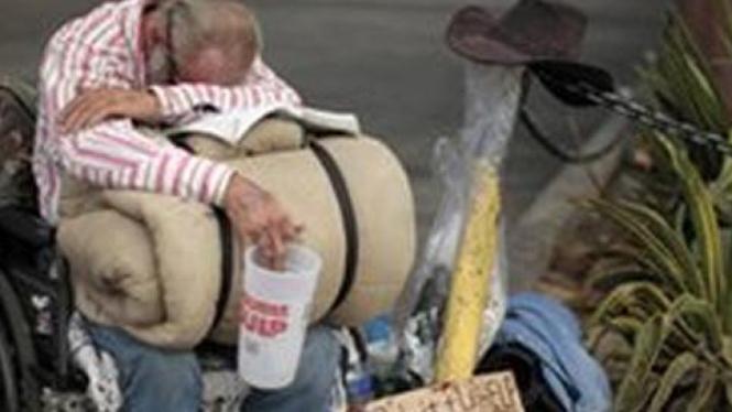 Warga miskin di AS