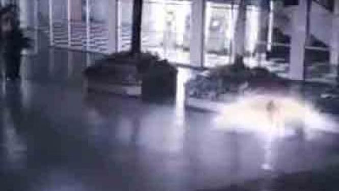 Screen shoot penampakan malaikat di Citos