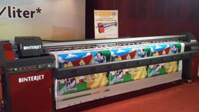 Binterjet, large format printer buatan dalam negeri