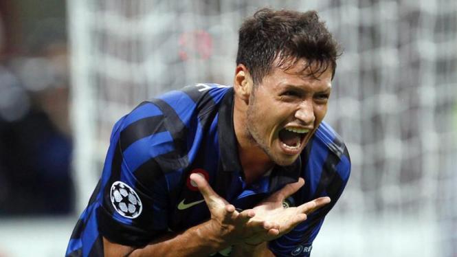 Inter Milan VS Trabzonspor, Mauro Zarate
