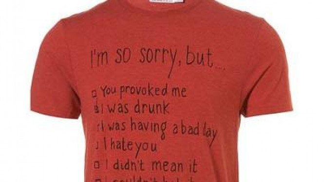 Kaus Topman 'You Provoked Me'