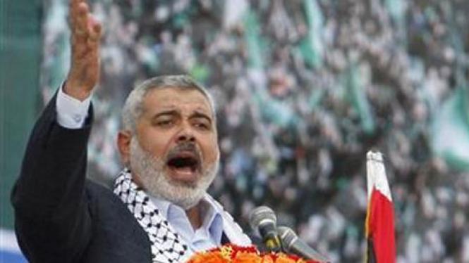Pemimpin Hamas, Ismail Haniya.