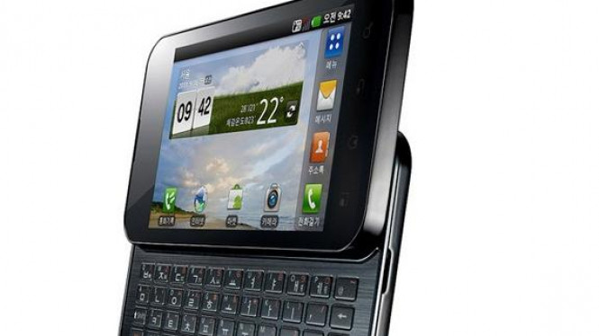 LG Optimus Q2 Qwerty-Slider