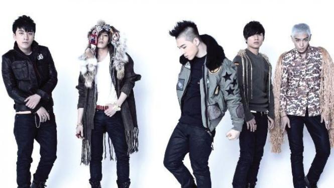 Boyband Korea Big Bang