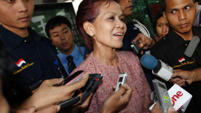 Mantan Deputi Senior Bank Indonesia (BI) Miranda Swaray Goeltom
