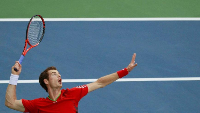 Andy Murray di US Open 2011