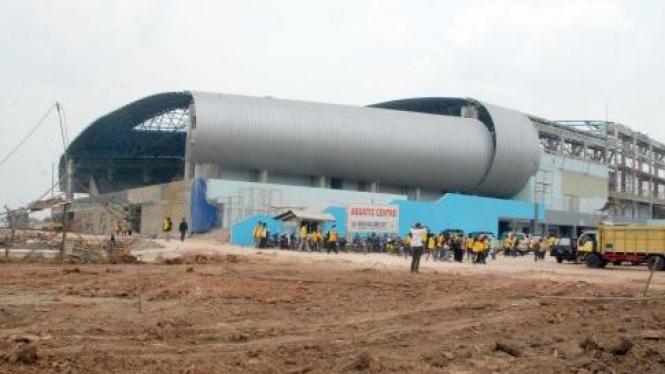 Aquatic centre di Jakabaring Palembang