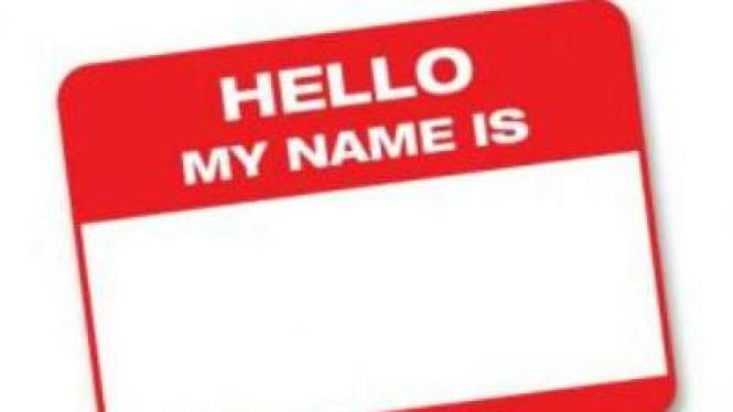 Ilustrasi Name Tag