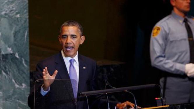 Barack Obama pidato di Sidang Umum  PBB