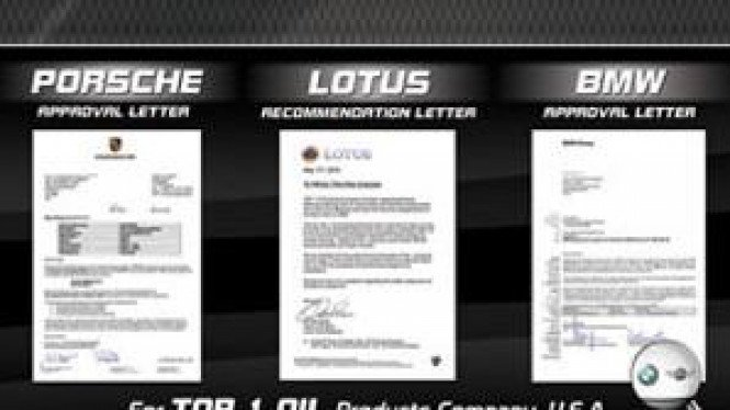 Rekomendasi BMW, Porsche dan Lotus