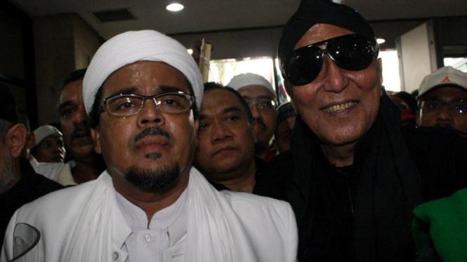 Habib Rizieq Shihab & Permadi Datangi KPK Ketika Anas Urbaningrum Diperiksa KPK
