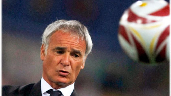 Pelatih Inter Milan Claudio Ranieri
