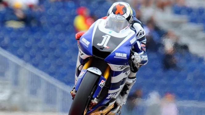 Jorge Lorenzo di MotoGP Aragon