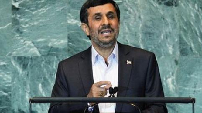 Ahmadinejad pidato di Sidang Umum PBB 2011