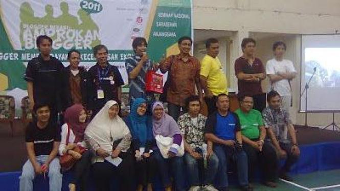 Amprokan Blogger 2011 di Bekasi