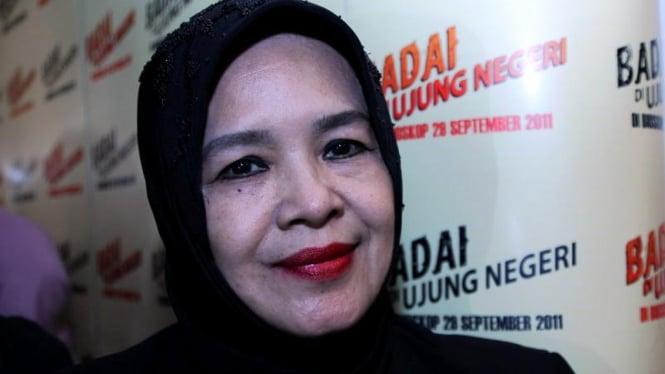 """Ida Leman Usai Premiere Film """"Badai di Ujung Negeri"""""""