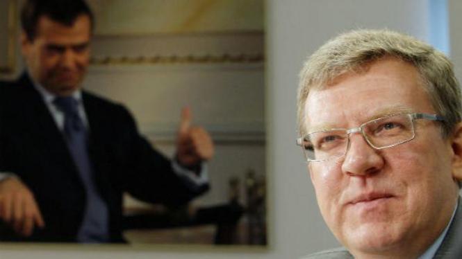 Menteri Keuangan Rusia Alexei Kudrin