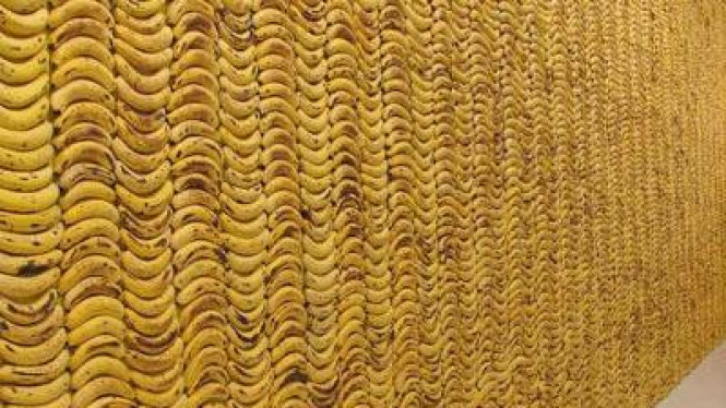 Dinding dari pisang