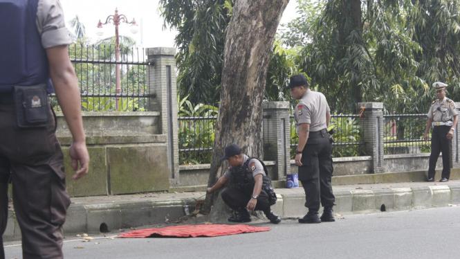 Polisi temukan bom di Gereja Ambon