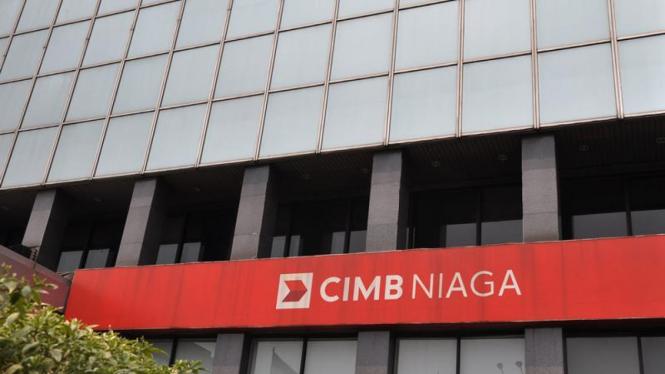Ilustrasi gedung CIMB Niaga