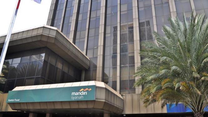 Gedung Bank Syariah Mandiri (BSM).