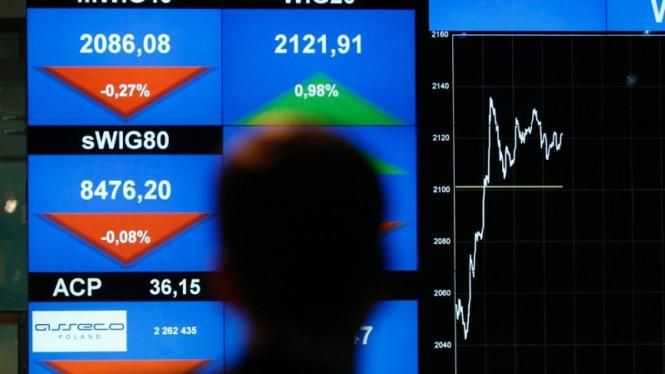 Bursa saham di Warsawa