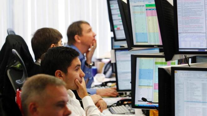 Bursa saham di Moskow