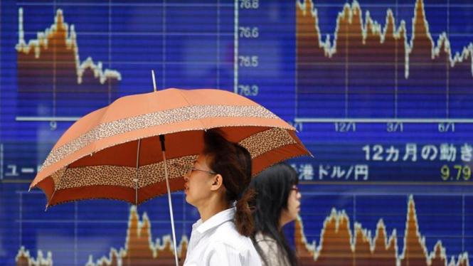 Bursa saham di Tokyo