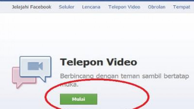 Video Call Facebook