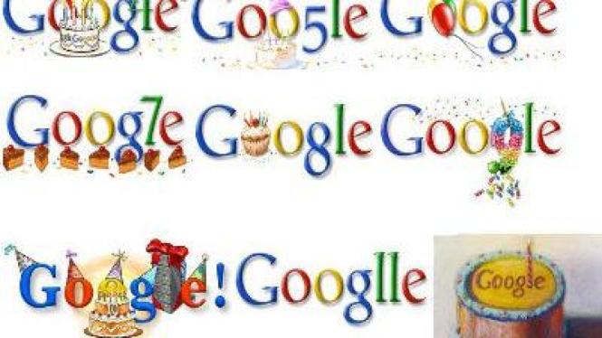 Ultah Google ke-13