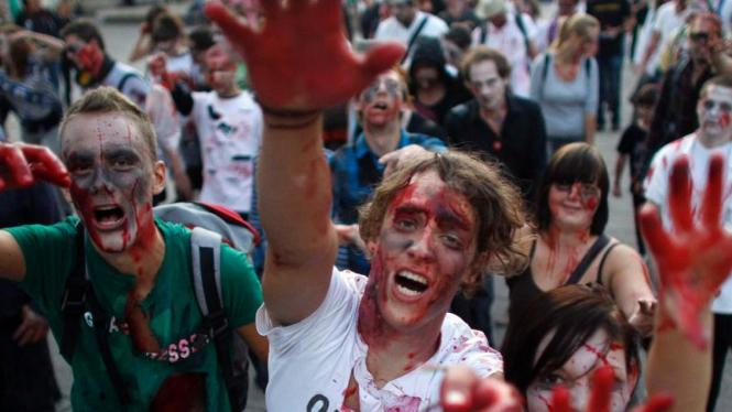 Festival Flashmob Zombie