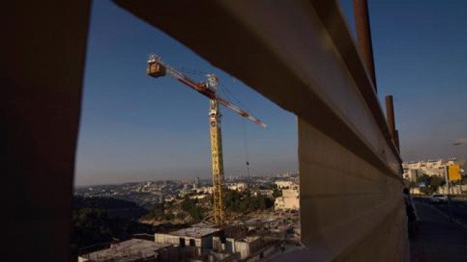 Pembangunan pemukiman Yahudi Gilo di Yerusalem.