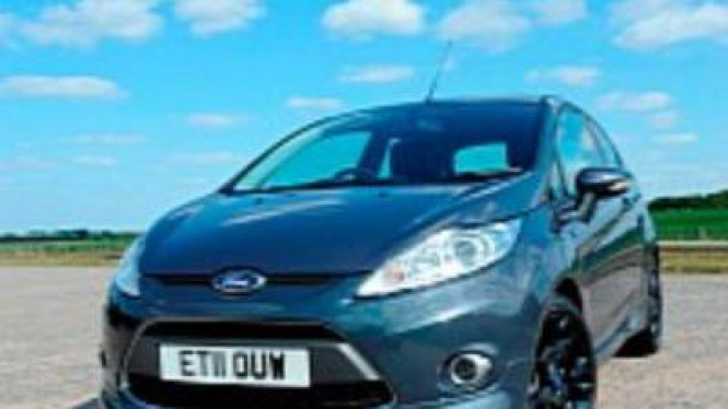 Ford Fiesta Metal Special Edition (SE)