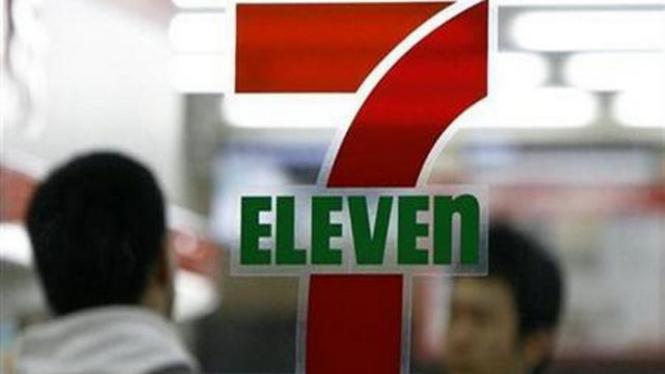 Logo mini market 7-Eleven.