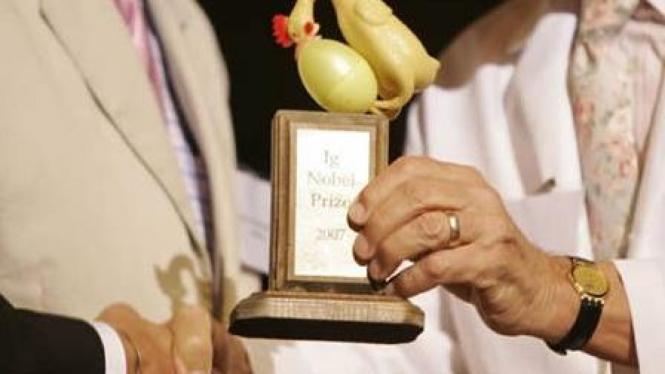 Ig Nobel Prize, sebuah parodi untuk Nobel Prize