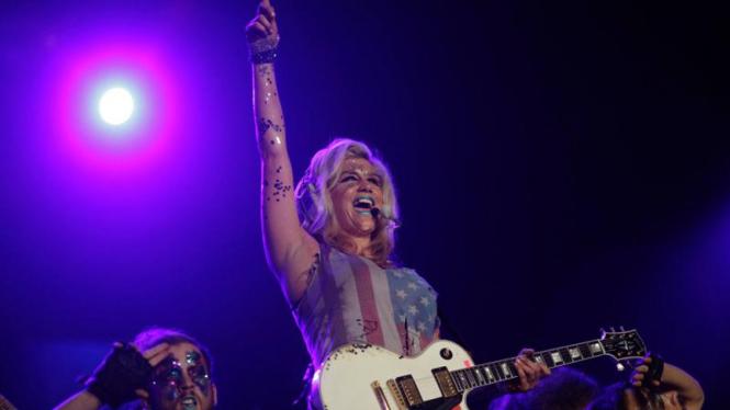 Penampilan Ke$ha dalam festival musik Rock in Rio