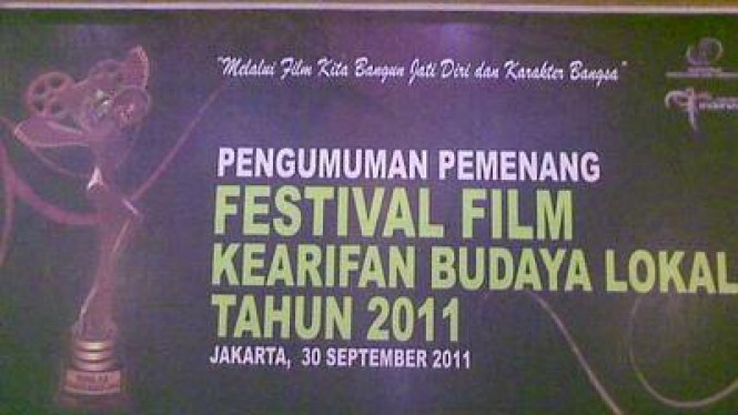 Festival Film Kearifan Budaya Lokal