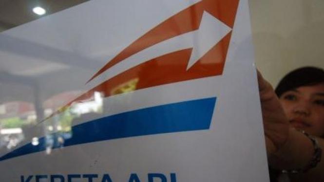 Logo baru PT Kereta Api