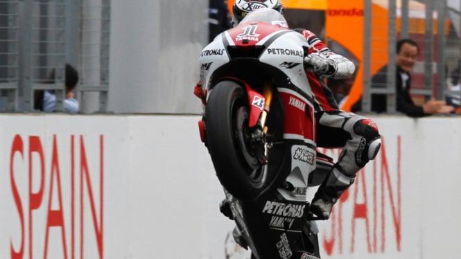 Jorge Lorenzo di MotoGP Jepang