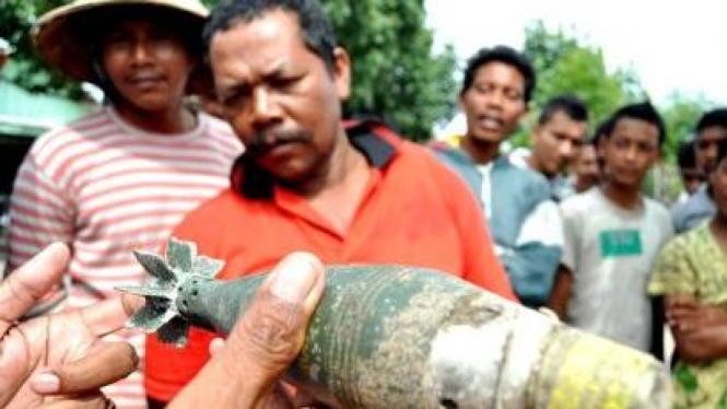 Warga Aceh temukan mortir