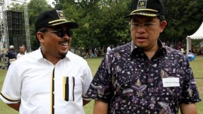 Luthfi Hasan Ishaaq dan Ahmad Heryawan (PKS)
