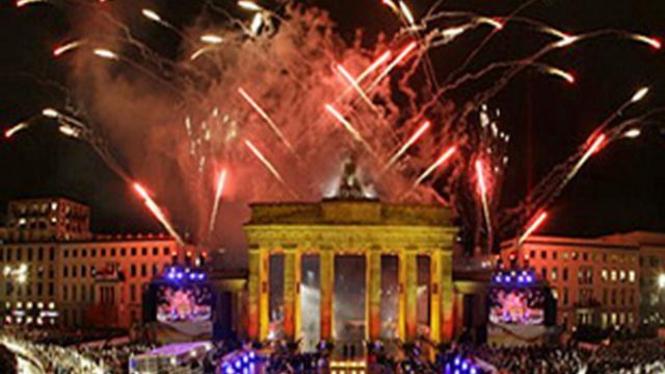 Perayaan runtuhnya Tembok Berlin