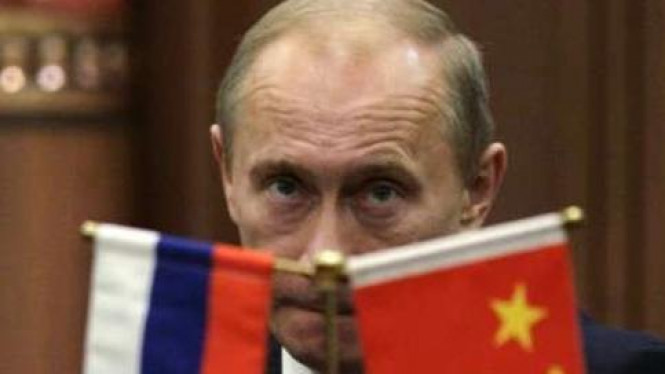 PM Rusia Vladimir Putin di Beijing.