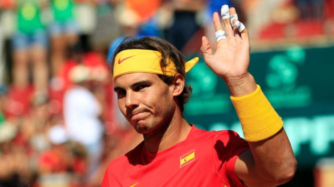 Rafael Nadal di Davis Cup