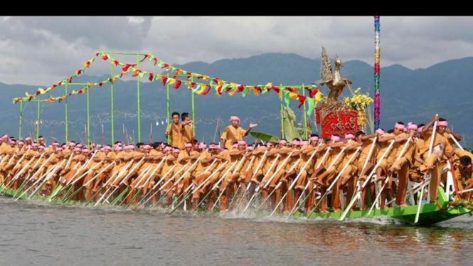 Kompetisi Dayung Myanmar