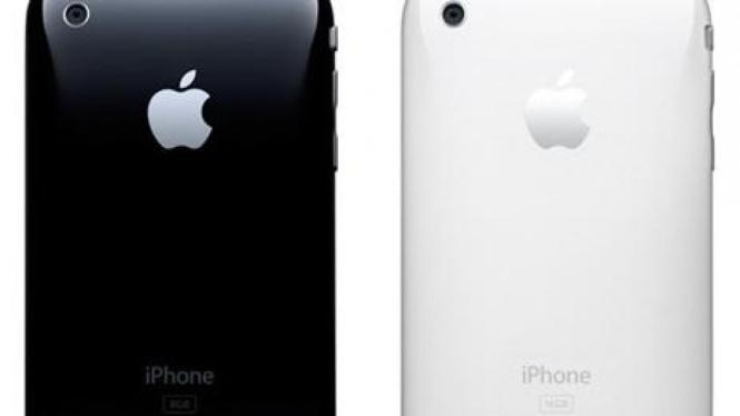 iPhone tampak belakang