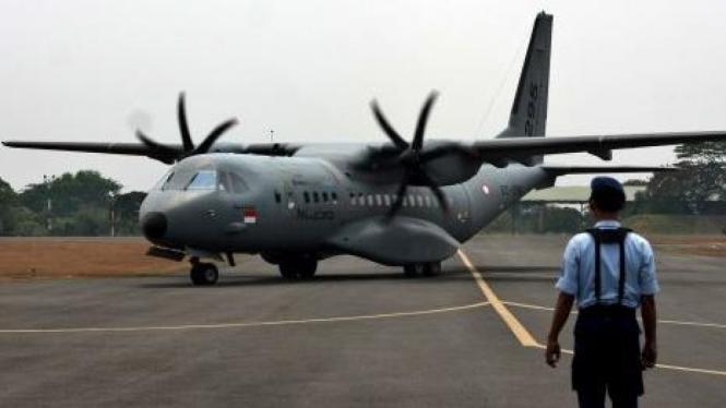 pesawat C 295 produksi PT Dirgantara Indonesia